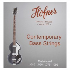 Hofner Bass Strings - Contemporary - Flatwound