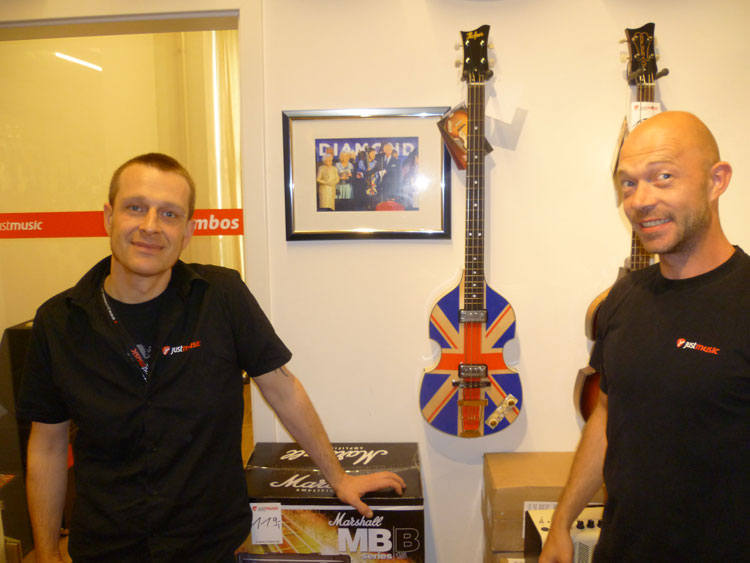 Hofner dealer Just Music