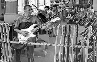 Hofner workshops 1963