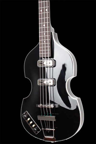 Black Höfner Violin Bass