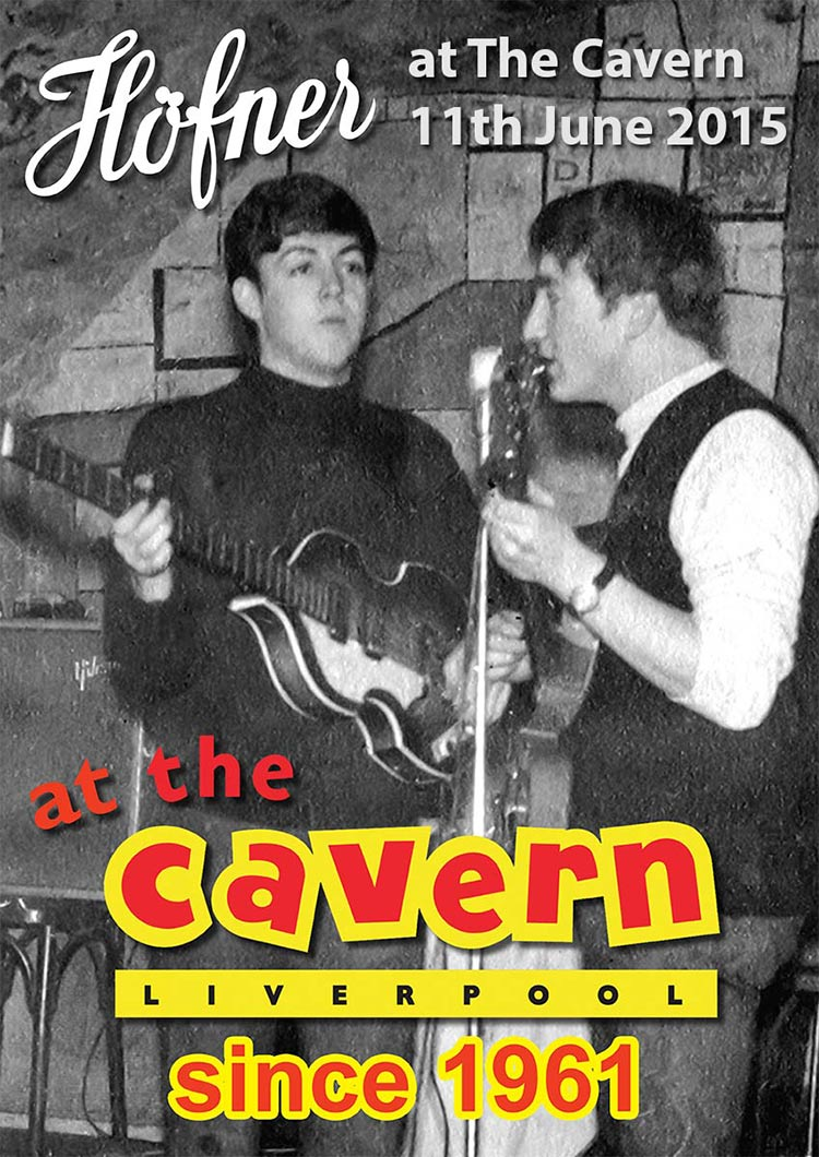 Hofner at The Cavern